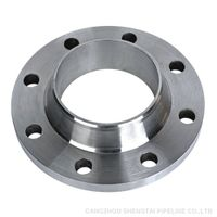 A105 carbon steel welded neck flange