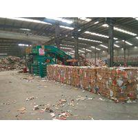 Horizontal Hydraulic Baler / Waste paper baler/ plastic baler/ straw baler