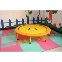 hot sell round fitness mini kids indoor trampoline indoor