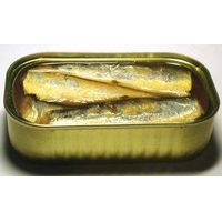 Canned Sardine Fish in Vegetable Oil, Tomato Sauce & Brine thumbnail image