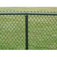 Electro-galvanized Wire Mesh 50mm*50mm Twisted Cyclone Chain Link Fence A