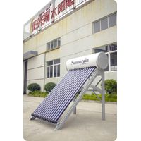 High quality Pressurized solar water heater with CE, ISO, CCC.
