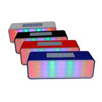 Portable LED Wireless Bluetooth Speaker