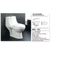 New Design Sanitary Ware Washdown One-Piece Toilet