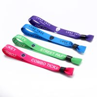 Professional Factory Direct Sale Custom QRcode Wristbands for Events thumbnail image
