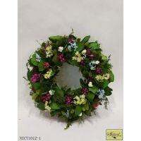 Leaves and flower wreath Easter/ spring docoration