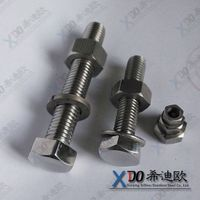 316L China real manufacturer stainless steel hex head bolt DIN/ASME/ANSI.ETC.