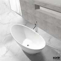 KKR manufacturer resin stone small round bathtubs