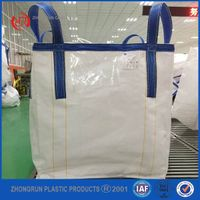 2016 Lower price 1Ton bag/ PP jumbo bags/big bags /Bulk bag ( for sand , building material , chemica