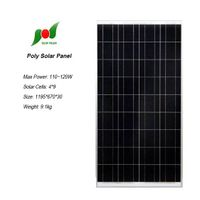 110W household power system poly panel with lower price
