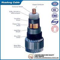 0.6/1KV Aluminum Core PVC Insulated Underground Power Cable
