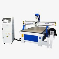 Furniture Leg Wood And Soft Metal Rotary Carving CNC Router Machine thumbnail image