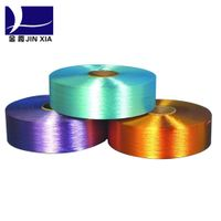 FDY Dope Dyed 1000d/288f Filament Polyester Yarn thumbnail image