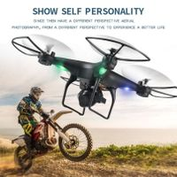 Four axis aircraft 4K folding GPS aerial photography dual intelligent positioning return UAV remote