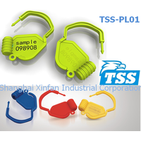 Model no. TSS-PL01, Plastic Tearable Padlock Security Seal (xfseal)