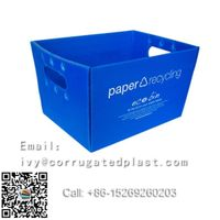 Eco-friendly PP Plastic Handles Corrugated Boxes recycled & durable printing available thumbnail image