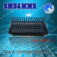 bulk sim card socket 16 port gsm modem with external antenna