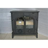 Double Doors Cast Iron Wood Stove