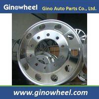 truck aluminum wheel 22.5x8.25 22.5x9.0