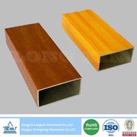 wooden print aluminium tube