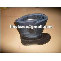 Low temperature liquid nitrogen boots