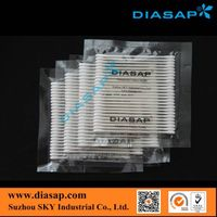Clean room cotton swabs for industrial use