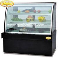 Luxury Cake Display Refrigerator Showcase