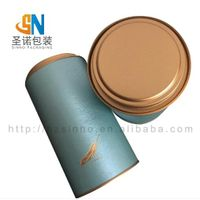 wholesale tea paper tube containers cylinder cardboard kraft paper packaging tea tube thumbnail image