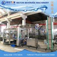 Bottled water filling machine with high speed turnkey project thumbnail image