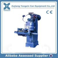 automatic vacuum tin can sealing machine/tin can making machine