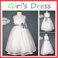 High quality party style 1-6 years old baby girl dress thumbnail image