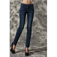 2012 Classic style women flared best stretch jeans