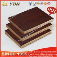 High quality melamine mdf panel, laminated mdf board