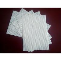 White Embossed Hexagonal spunlace nonwoven fabric