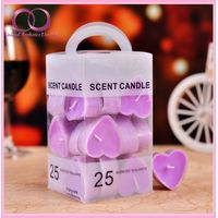 Heart Shaped Tealight Candle