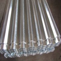 Hot dipped galvanized corrugated steel sheets