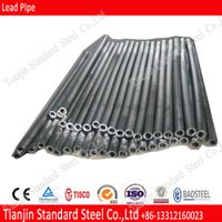 25mm 32mm 60mm Lead Pipes 99.99% Pure Solar Flashing Lead Pipe