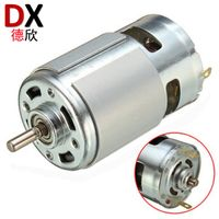 RS775 Round Type 24 Volt DC Motor Manufacturers