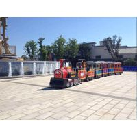 amusement park electric train