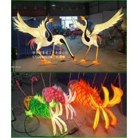 Animal Shaped Chinese Lanterns On Home Decorations
