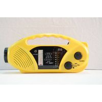 FM/Am/Sw Emergency Rechargeable Siren Crank Radio thumbnail image