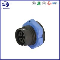 5A add 20A middle 3pin waterproof connector for led wire harness thumbnail image
