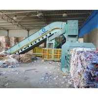 Automatic Waste baler Cardboard Recycling Machine
