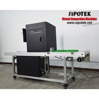 Machine Vision Inspection Machine for Pallet and Carrier Belt Mutual Transfer