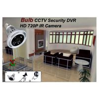 PIR Wifi Bulb Camera DVR P2P Remote Monitor