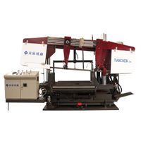 Band Sawing Machine for H-beam of steel structure