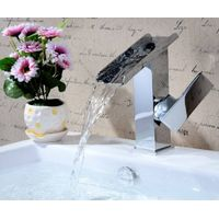 Tub faucet ceramic cartridge single handle taps thumbnail image