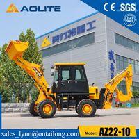 Construction machinery Mini Excavator Backhoe Loader Az22-10 Use Low Prices thumbnail image