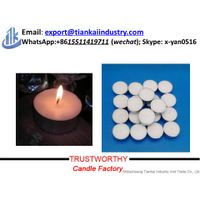 Candle factory wholesale unscented white tea light candle thumbnail image