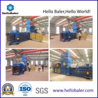 Automatic Waste Paper Baling Machinewith (PLC Contorl)